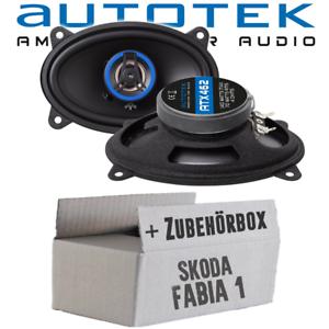 Autotek altavoces para Skoda Fabia 1 6y coche familiar combi Heck boxeo automóviles kit de integracion