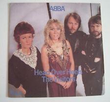 """ABBA """"Head over heels / The visitors"""" (Vinyl 45t/SP) 81"""
