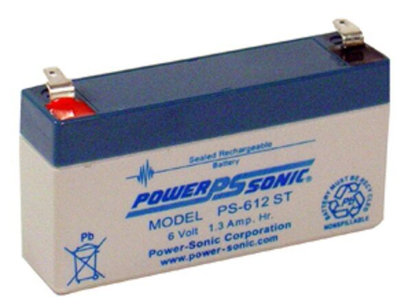 Powertron PE6V12RF1 SLA, Sealed lead acid Batteries