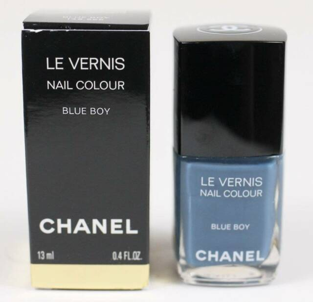 CHANEL Le Vernis Nail Polish Blue Boy for sale online | eBay
