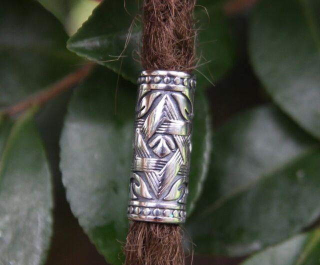 Stainless Steel 8mm Hole (5/16 Inch) Dreadlock Bead Viking beard Dread beads