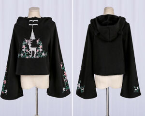Sweet-Lolita-Embroidery-Hoodie-Lovely-Girls-Gothic-Sweater-Harajuku-Tops-2Colors