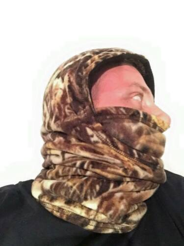 ZooFleece Shadow Grass Waterfowl Balaclava Headgear Mask Hood Camouflage Hunting