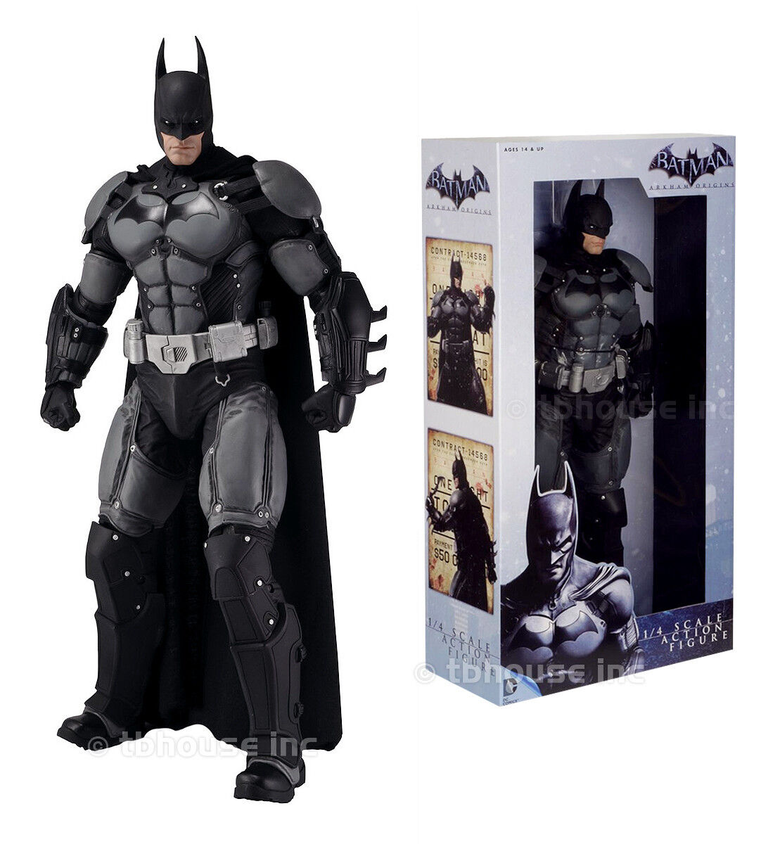 1/4 Scale DC Comics Batman Arkham Super Hero 18