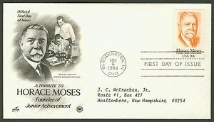 2095-20c-Horace-Moses-Art-Craft-PCS-FDC-ANY-4-FREE-SHIPPING