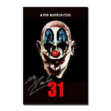 2016 A Rob Zombie Film 31 Horror Movie Art Hot 12x18 24x36in FABRIC Poster N2928