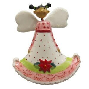 DT-K-Signature-Brown-Girl-Angel-with-Black-Hair-Christmas-Ornament-Bell-2007