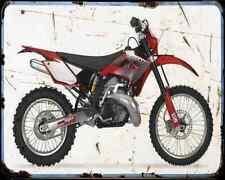 Gas Gas Ec 300 07 A4 Metal Sign Motorbike Vintage Aged