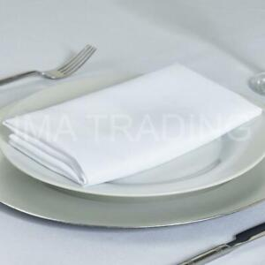 "Nappe blanche 178 cm x 229 cm, 70"" X 90"" pouces, 220GSM Polyester Table Cloth **"