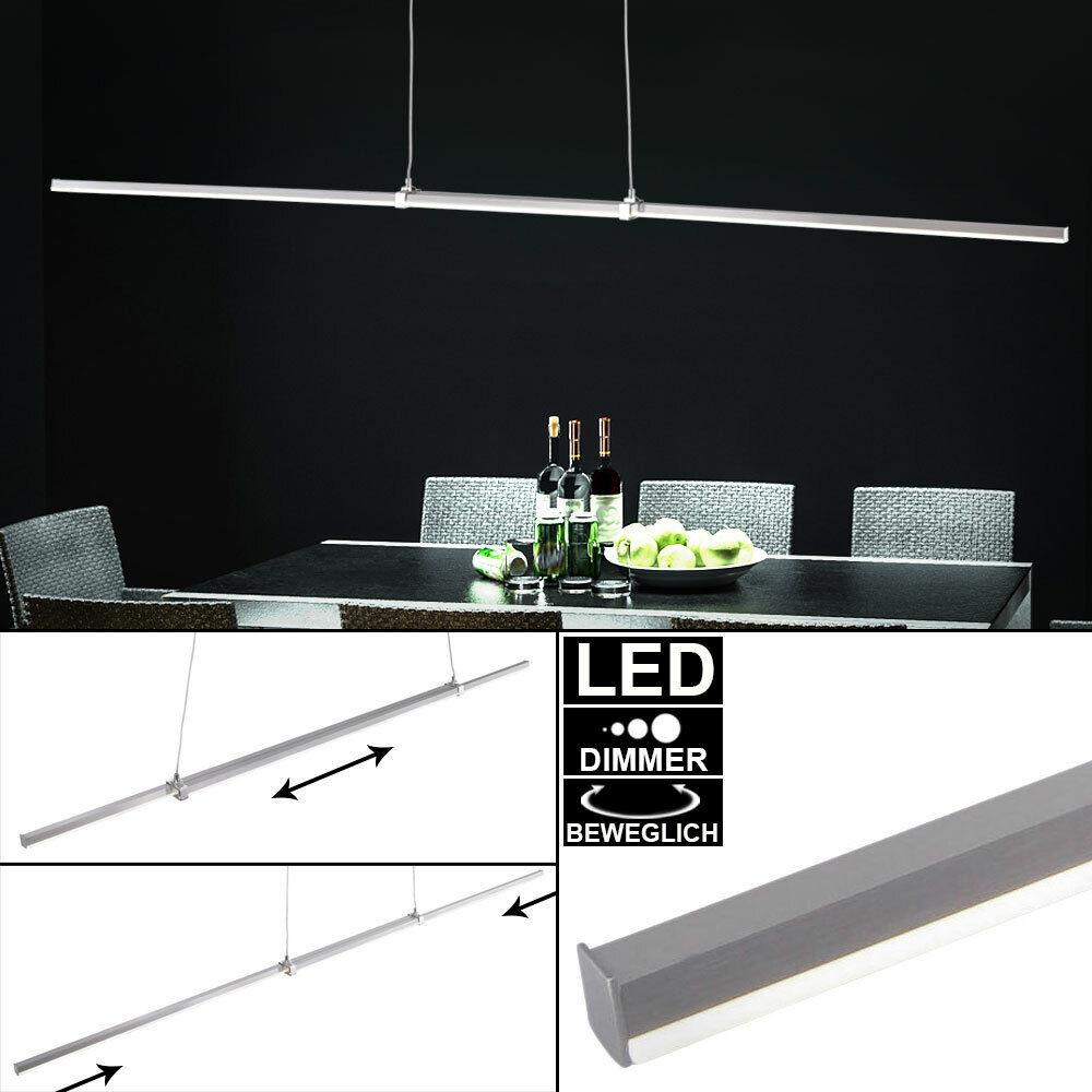 LED suspension plafonnier salon salle à manger lampe suspendue réglable DIMMER