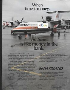 Air Wisconsin De Havilland Dash 7 At Chicago Ohare Time Is Money