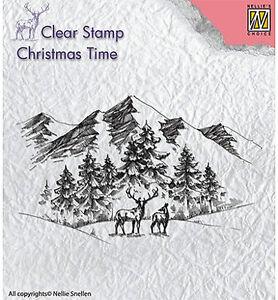 Motivstempel-Clearstamp-Winterlandscape-Winterlandschaft-Nellie-Snellen-CT018