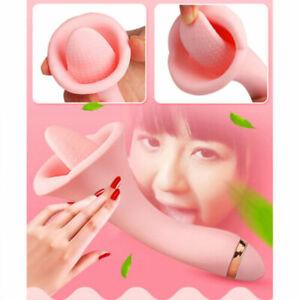 Sex-Vibrator-G-Spot-Clitoris-Tongue-Stimulator-Massager-USB-Charging-Female-Toy
