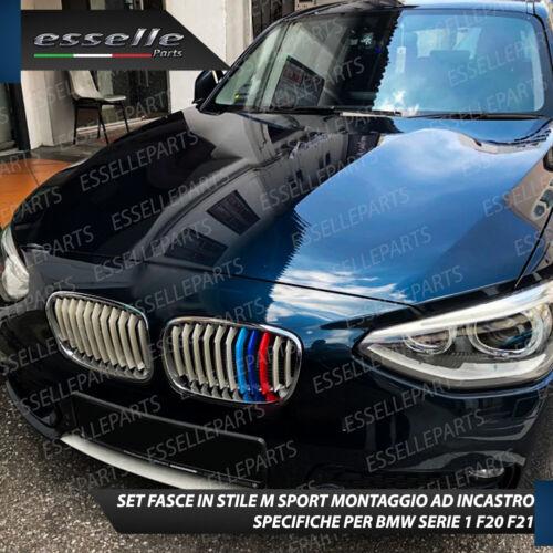 BMW SERIE 1 F20 F21 FINO AL 2014 COVER PER GRIGLIA IN STILE M SPORT AD INCASTRO