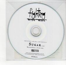 (GO215) Fighting With Wire, Sugar - 2009 DJ CD