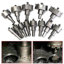 13Pcs 16-53mm Carbide Tip TCT Drill Bit Metal Alloy Hole Saw Set Machine Tools