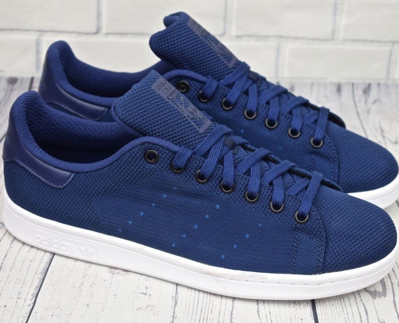 Adidas Originals Stan Smith Woven (Sizes: 6 7 7.5 ) Dark Marine bleu weave