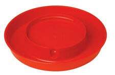 Little Giant 750 1 12 Hx9 Dia In Red Polystyrene Poultry Waterer Base 1 Gal