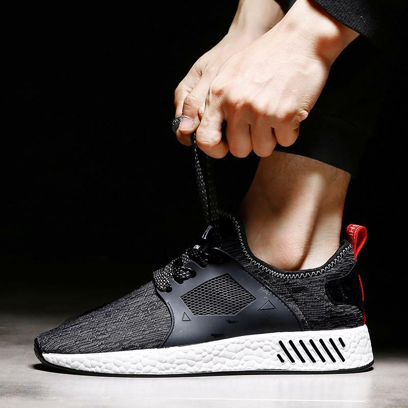 Running shoes for Men Sports shoes Male Low Lace-Up Rubber Breathable For Adult