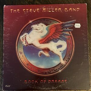 The Steve Miller Band Book Of Dreams Vinyl LP Orig Capitol Record VG+
