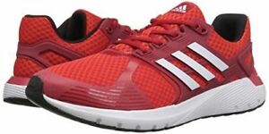 Details about adidas Duramo 8 Mens UK 8 Cloudfoam Red & White Running Shoes Trainers FREEPOST