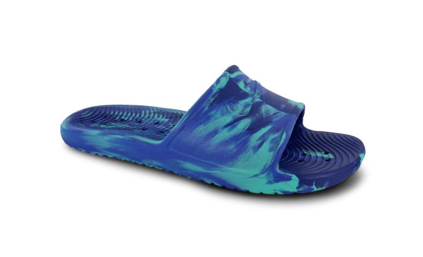 nike kawa shower marble slide sandal