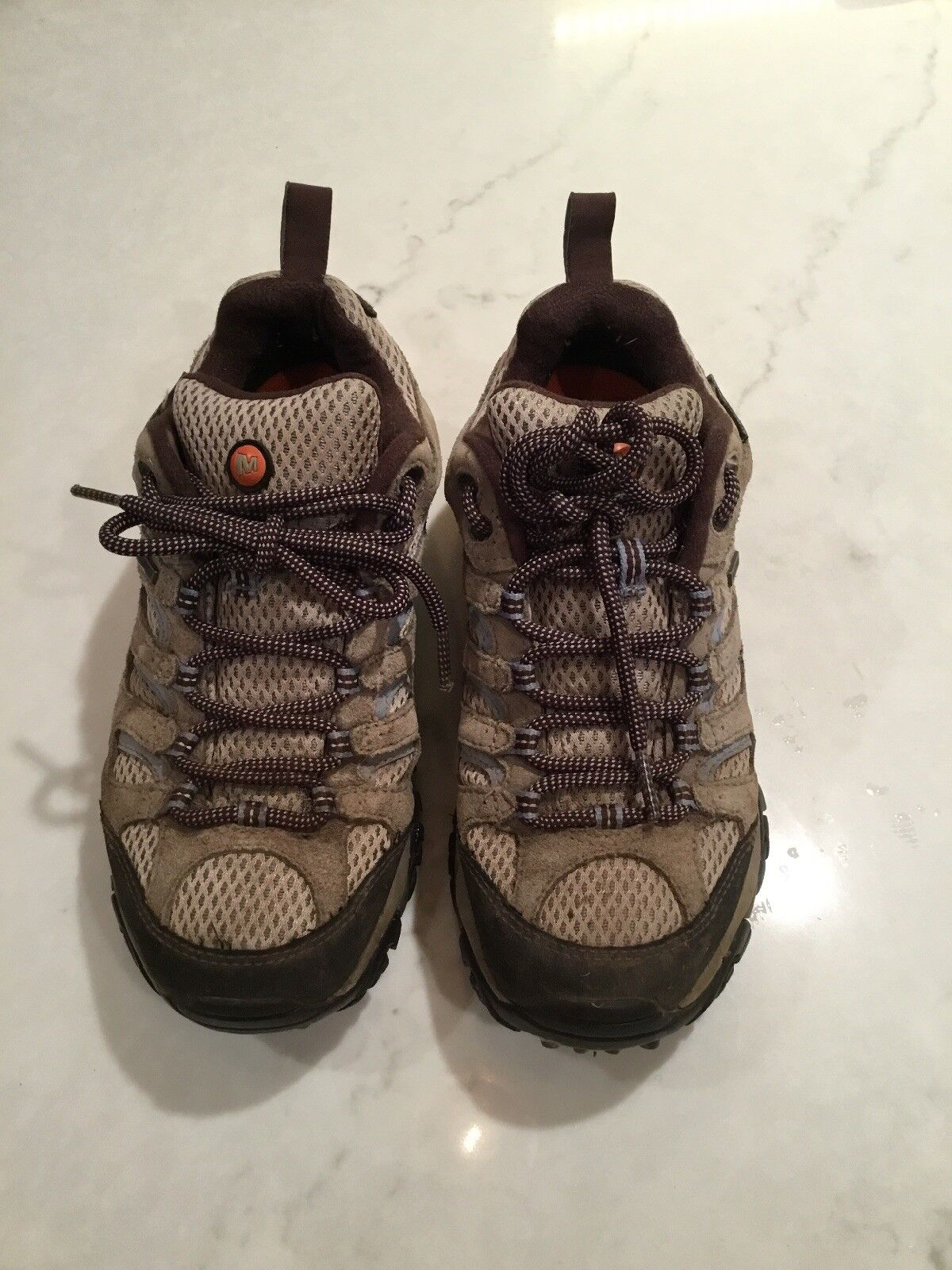 SHOES VIBRAM HIKING WOMENS DUSTY CONTINUUM MERRELL SIZE