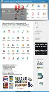 NICE-ONLINE-MARKETING-TOOLS-MEMBERSHIP-WEBSITE-BUSINESS-FOR-SALE