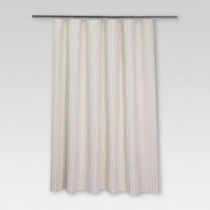 Image Is Loading Threshold Tan White Striped Woven Fabric Cloth Standard