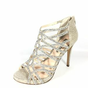 3716e6cb45bb I N C International Concepts Sharee Women s Size 5.5 Champagne Heel ...