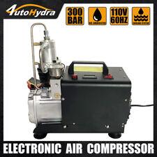 High Pressure Air Compressor 4500psi Air Rifle Pcp Auto Stop Electric Air Pump