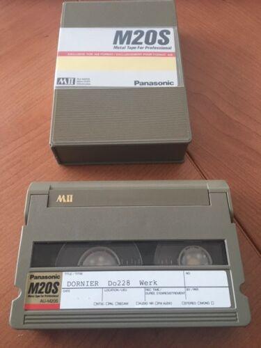 M20S Video Cassette gebraucht für MII Cameras und Recorder kleines Format