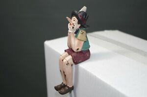 Vintage-Figurine-Pinocchio-5-1-2in-Edge-Sitter-Decorative-Figure