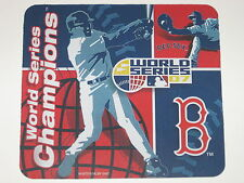 "Boston Red Sox 2007 World Series Champs 9"" x 8"" Neoprene Logo Computer Mousepad"