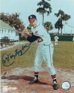 JOHNNY-LOGAN-MILWAUKEE-BRAVES-SIGNED-AUTOGRAPHED-8X10-PHOTO-W-COA