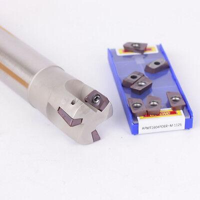 BAP400R C32-32-200-3F Indexable milling cutter 10pcs APMT1604PDER-H2 1125