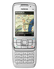 Nokia E66 - white (Unlocked) WIFI GPS Cellular Phone Free Shipping