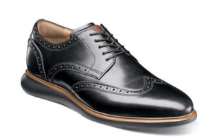 Florsheim-Mens-Shoes-Fuel-Wingtip-Oxford-Black-Dressy-Casual-14238-001