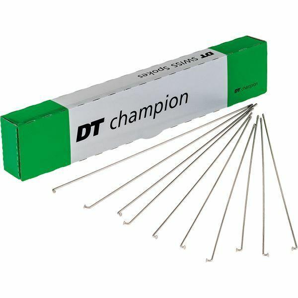 DT Swiss Champion radios de plata  14 G = 2 mm Box 100, 256 mm  en promociones de estadios