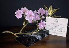 "ROYAL WORCESTER ""ARGENTEUIL"" FLOWER FIGURINE BY RONALD VAN RUYCKEVELT # 331/500"