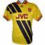 thumbnail 1 - 1993-1994 Arsenal Away Football Shirt Adidas Small (Excellent Condition)