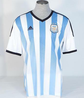 Adidas ClimaCool Argentina 2014 World Cup Home Soccer Football Jersey Men's NWT   eBay