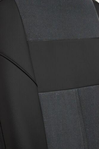 Autositzbezüge Autoschonbezüge Grau passend für Ford Fiesta Mk VI 2008-2017