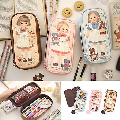 Afrocat Paper Doll Mate Better Beauty Pouch P Cosmetic Organizer Bag Pencil Case
