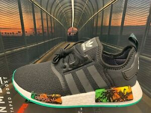 Details about adidas NMD R1 Tropicana Sunset Black White GS Men Sz 4Y 13 New Limited