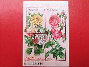 2003 Malaysia Miniature Sheet - Roses In Malaysia