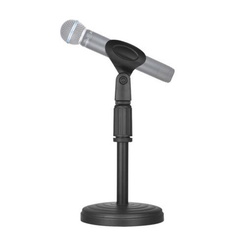 Verstellbare Tischmikrofonständer Mikrofonständer Halterung Mikrofonhalter U1K6