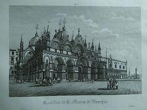 1845-Zuccagni-Orlandini-Veduta-della-Basilica-di-San-Marco-di-Venezia
