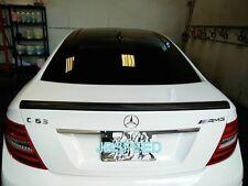 C63 AMG Carbon Spoiler Mercedes Benz C204 Coupe C180 Heckspoilerlippe