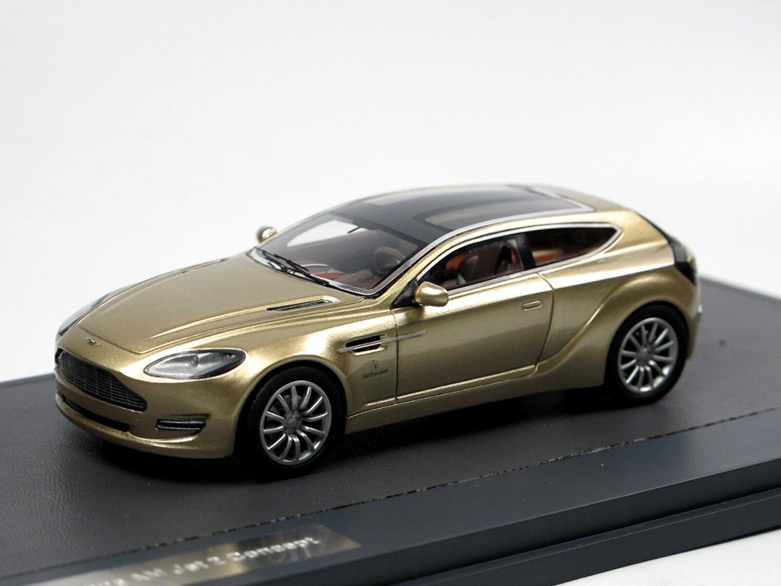 Matrix Scale Models 2013 Aston Martin Bertone Jet 2 Concept Gold 1 43  | Qualität und Verbraucher an erster Stelle